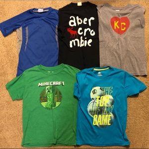 Boys shirts size L